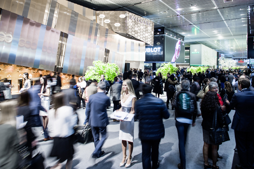 Salon Baselworld2016 en Suisse