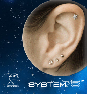 Constellations de piercings : bijoux de perçage pour System 75 de Studex