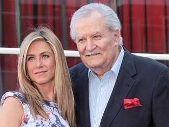 Jennifer Aniston et son père, John Aniston - © Andrew Evans/PR Photos