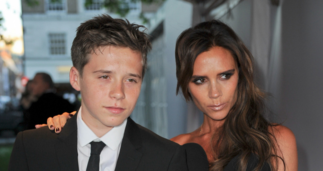 Brooklyn and Victoria Beckham, photo: © Landmark/PR Photos